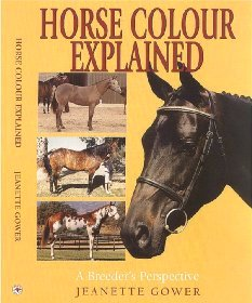 Front Cover Horse Colour Explained Book